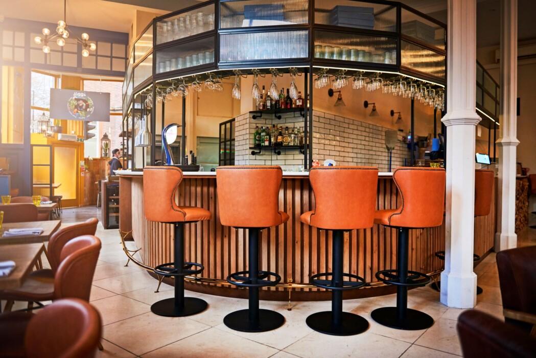 bar and bar stools – resized